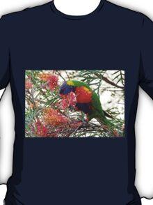 Rainbow Lorikeet ~ Breakfast T-Shirt