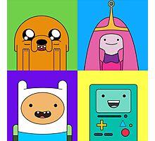 Adventure Time Pop Art Photographic Print