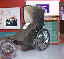 Victorian Invalid Carriage-Thackary Medical Museum by Sandra Cockayne