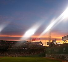 Sunset at Fenway Park by pancake111