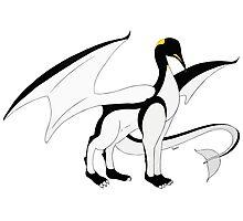 The Penguin-Dragon (Lastest evolution) Photographic Print
