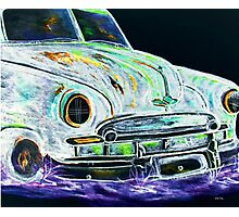 Ghost Car Photographic Print