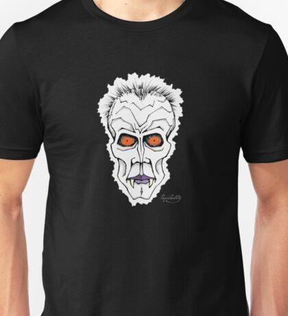 Vampire Zombie Head Unisex T-Shirt