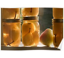 Canned Pears Poster