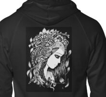 Lady Gypsy Ink Zipped Hoodie