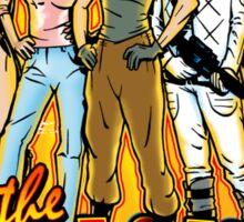 SuperWomen of the 80s - Fight The Power! Sticker