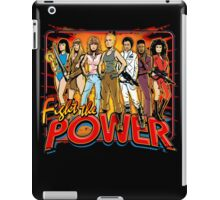 SuperWomen of the 80s - Fight The Power! iPad Case/Skin