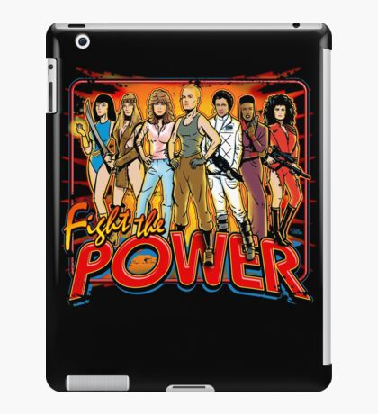 SuperWomen of the 80s - Fight The Power! iPad Case/Skin
