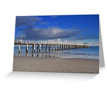 Walk The Planks Greeting Card
