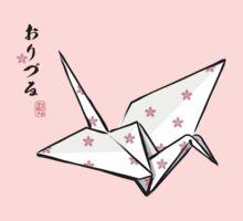 Paper Crane (Pink Sakura) by 73553