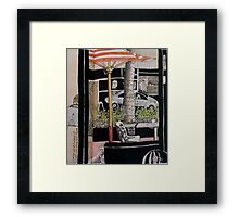 Across Oxford Street Framed Print