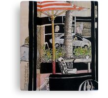 Across Oxford Street Canvas Print