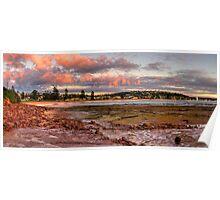 Daybreak - Long Reef, Sydney, Australia (Panorama 25 Exposures) Poster