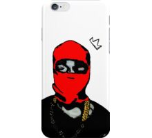 Red Yeezy iPhone Case/Skin