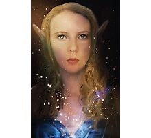 Elven Galaxy Fey Profile Photographic Print