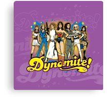 SuperWomen of the 70s - DyNoMite! Canvas Print