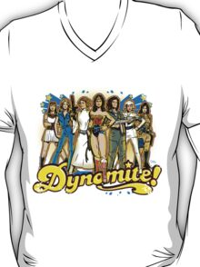 SuperWomen of the 70s - DyNoMite! T-Shirt
