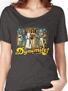 SuperWomen of the 70s - DyNoMite! Women's Relaxed Fit T-Shirt