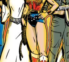 SuperWomen of the 70s - DyNoMite! Sticker