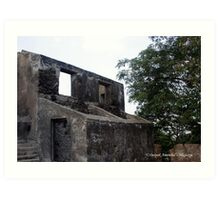 Rooms at Sion Fort Art Print