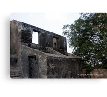 Rooms at Sion Fort Canvas Print