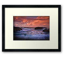 Forster Morning  Framed Print