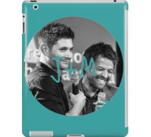 J and M iPad Case/Skin