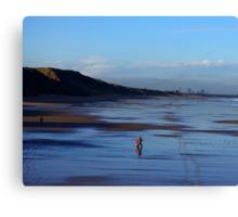 Stroll on the Beach Canvas Print