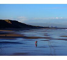 Stroll on the Beach Photographic Print