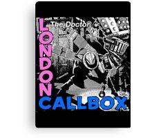 London Callbox Canvas Print