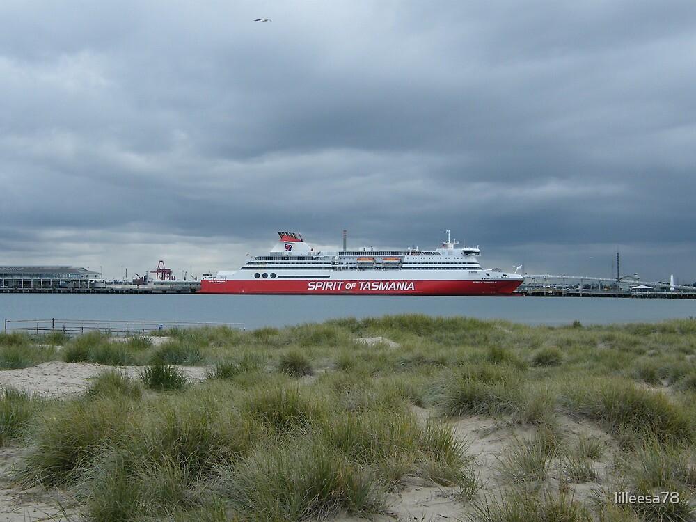Spirit of Tasmania, Station Pier, Port Melbourne by lilleesa78