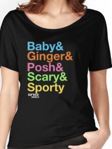 SPICE FORCE FIVE Women's Relaxed Fit T-Shirt