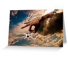 Hand Of God Greeting Card