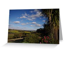valley between Lobethal and Charleston, Adelaide Hills Greeting Card