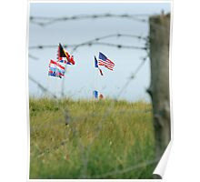 Utah Beach - Freedom Is Worth Fighting For Poster
