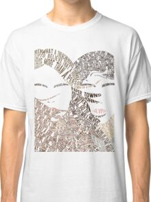 Paper Towns Movie Poster Typography (1 of 7) Classic T-Shirt