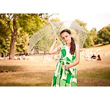 Alexa in Greenwich Park Photographic Print