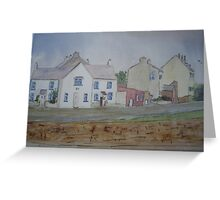 Cappa village, Kilrush, Co.Clare Greeting Card