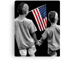 American Boys Canvas Print