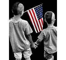 American Boys Photographic Print