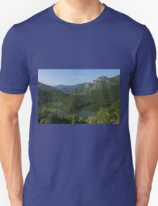 Green, Green and Green - the Water, the Mountains, the Trees T-Shirt