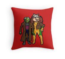 Good Grief, X-Muppets Throw Pillow