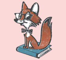 Fox Librarian Kids Clothes