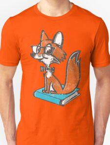 Fox Librarian T-Shirt