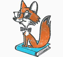 Fox Librarian Unisex T-Shirt