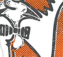 Fox Librarian Sticker