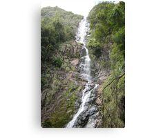 Wending Watery Way-down at Montezuma Falls Canvas Print