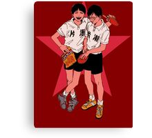 Peko and Smile - Ping Pong the animation Canvas Print