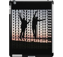 Manly Moments iPad Case/Skin