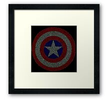 Captain Matrix Framed Print
